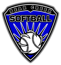 Bear Creek Softball Logo